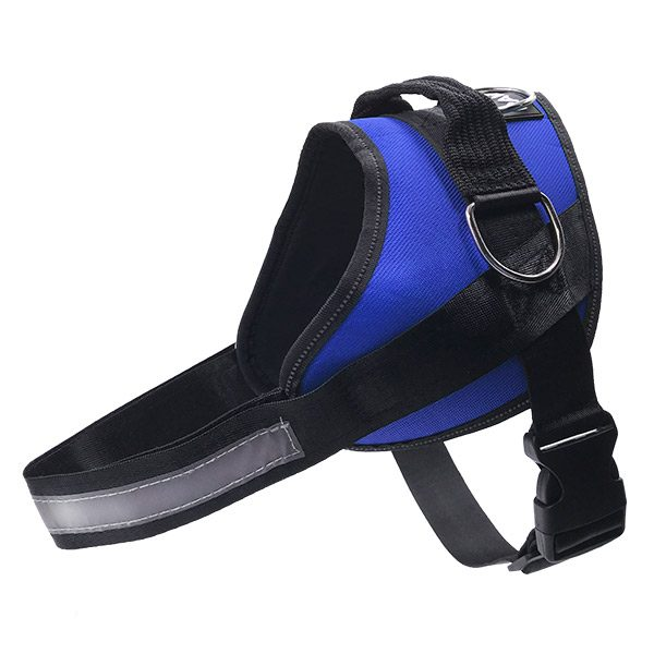 no pull dog harness pawie blue